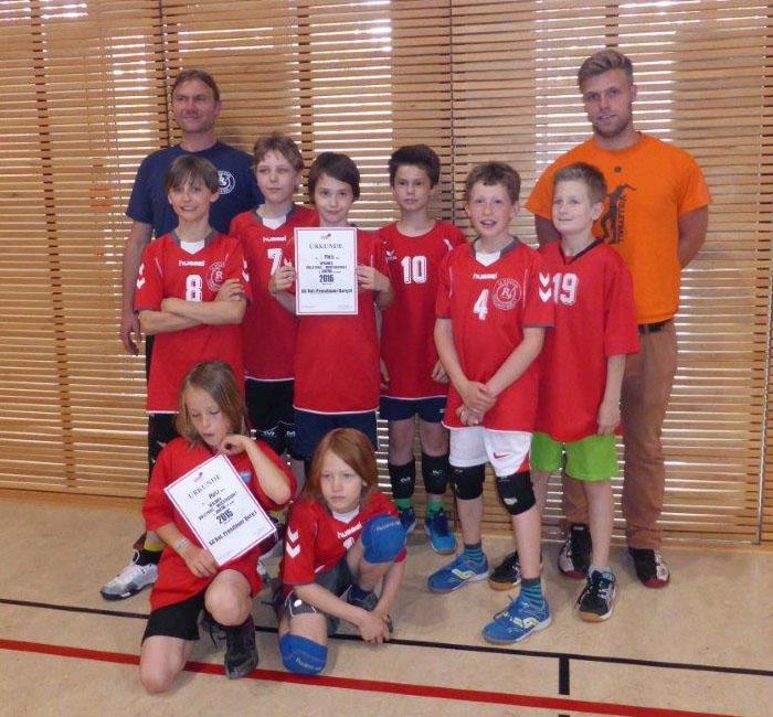 Team u12 männlich - Saison 2014/15